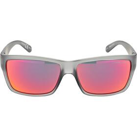Alpina Kacey Cykelbriller, cool grey matt/red mirror